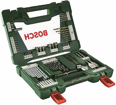 Bosch V-Line Titanio - Maletín de 83 unidades para taladrar y atornillar NUEVO