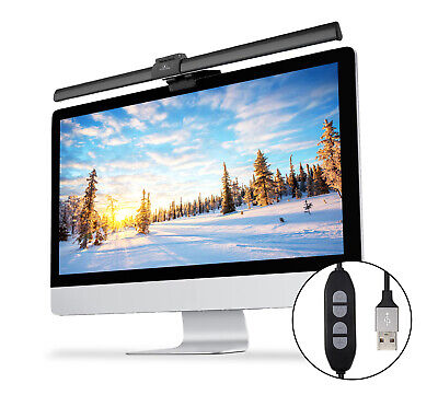 Upgrade USB Screenbar E-reading Lamp Dimmable Computer Monitor Eye Care Light for sale  Shipping to Nigeria