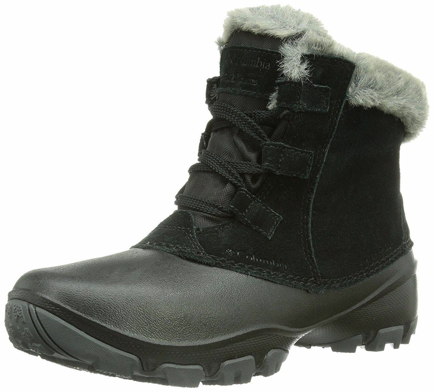 COLUMBIA WOMENS 6.5 SIERRA SUMMETTE SHORTY SNOW BOOTS NWT BL