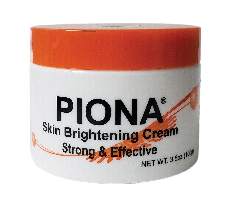 Piona Skin Brightening Cream 3.5 Ounce (100 Gram) New Formulation Health & Beauty