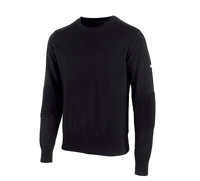 Harley-Davidson Wool Blend Slim Fit Sweater Pullover Gr. XXL - Schwarz. Herren