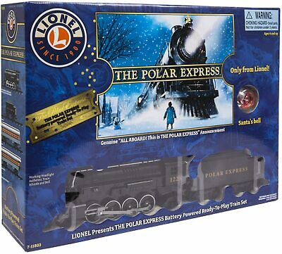 NEW Lionel The Polar Express Ready-to-Play Train Set Battery-Powered (Christmas)