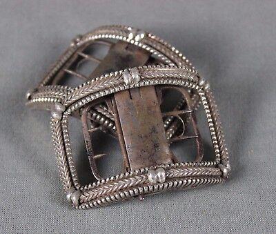 Pair of George III Silver Shoe Buckles 1804