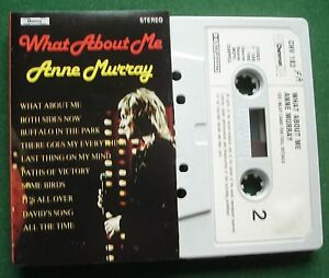 Anne-Murray-What-About-Me-inc-Both-Sides-Now-Cassette-Tape-TESTED