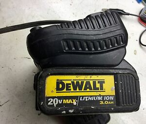 20 volt battery and charger $50.