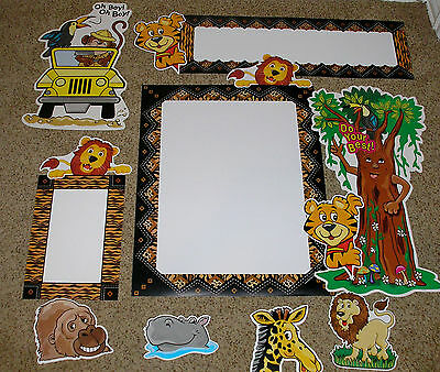 Teacher Resource: Jungle Theme Bulletin Board Set (Jungle Bulletin Board)