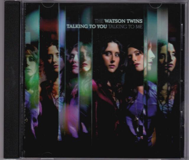 The Watson Twins - Talking To You Talking To Me - CD (Vanguard 79972-2 EU 2010)