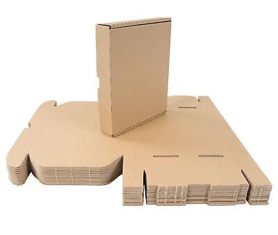 25 Cajas Cartón 22x18x4 CM de Envío Plegable Grande