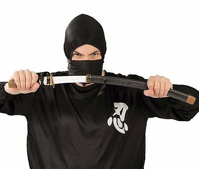 Samurai Schwert Zubehör (Erwachsene Spielzeug Samurai-Schwert Japanisch Ninja Kostüm Outfit Zubehör Waffe)