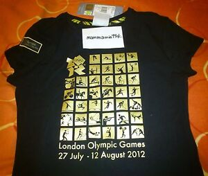Official Adidas London 2012 Olympics Venue Collection Pictogram T-Shirt & Logo