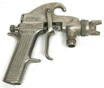 Binks Model 26 Spray Gun Used See Photo Untested
