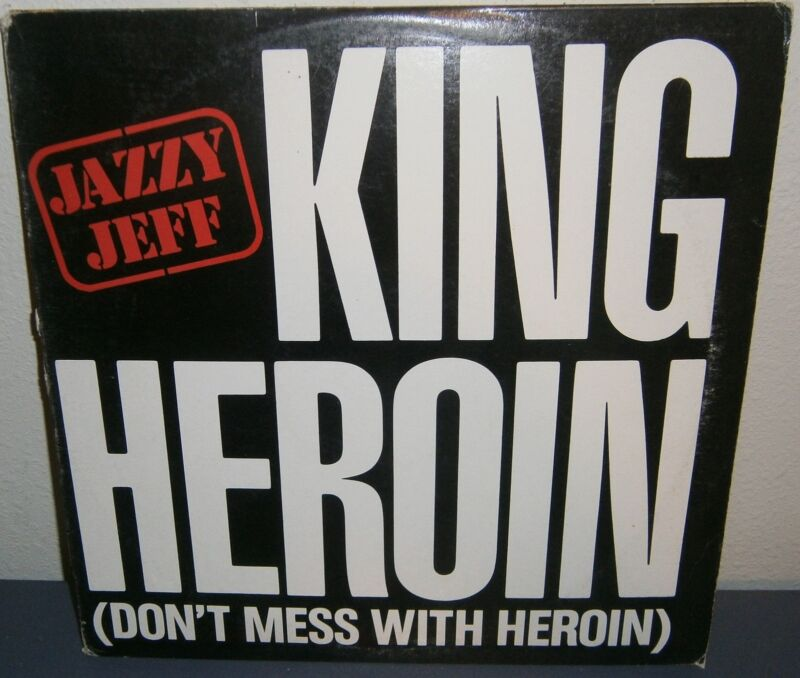 Jazzy Jeff King Heroin JDI-9330 1985 ZOMBA Productions Durham, N.C. Promo 1985