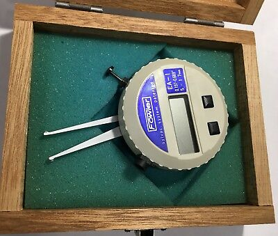 Fowler 54-554-001 Sylvac Digital Internal Caliper Gage .197-.6695-17mm Range