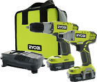 Both 18V Power Tool Sets with 2 Tools