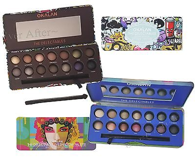 Okalan Delectables Eyeshadow Palette- Cool Shades or Smokey Neutrals * You Pick!