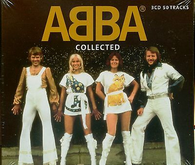 ABBA COLLECTED Best of 50 TRACK Greatest Hits DANCING QUEEN New Sealed 3 CD