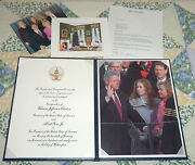 Bill Clinton Signed Card