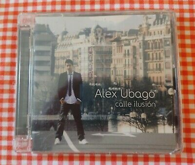 ALEX UBAGO - CALLE ILUSION - CD NEW & SEALED - POP