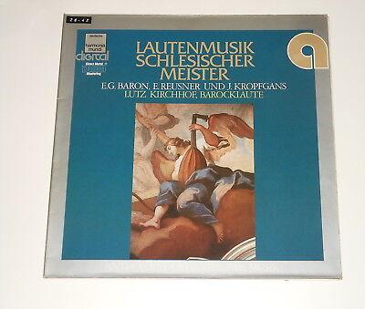 Lutz Kirchhof - Laute - Lute - LP - Lautenmusik Schlesischer Meister - BARON