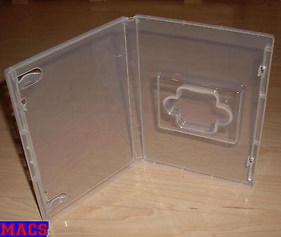 5 Hüllen transparent durchsichtig für USB Stick - 136x191x15 mm (DVD Hülle) Neu