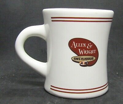 A & W Root Beer Stand ceramic  cup Allen & Wright Cafe Classque Canada 4.25""