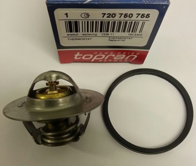 COOLANT THERMOSTAT AND SEAL/O-RING - TOPRAN - 133811/720750