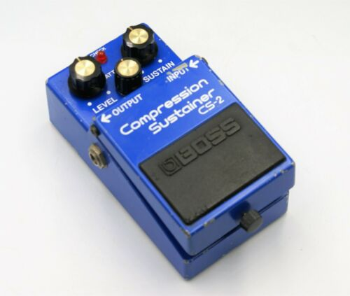 BOSS CS-2 Compression Sustainer Guitar effects Pedal MIJ ACA Spec Express F/S