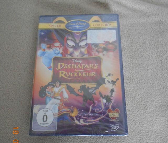 Walt Disney DVD Aladdin Dschafars Rückkehr Special Collection Neu in Folie 06/16