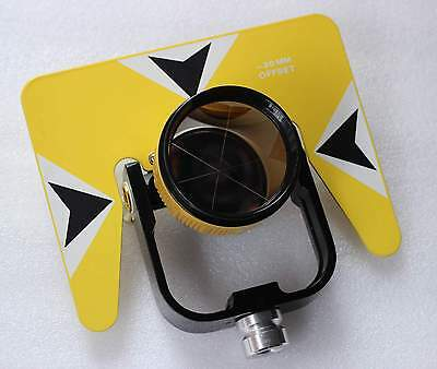 Yellow All Metal Prism Set W Bag For Topcon Sokkia Nikon Pentax Total Station
