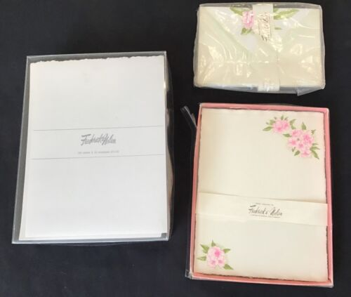 Vintage Stationary rhododendron box Seattle Frederick and Nelson Marshall Fields
