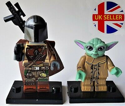 The Mandalorian or Baby Yoda Star Wars Mini Figure Lego Compatible, UK Seller!