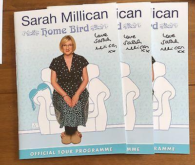 Sarah Millican -  Home Bird Tour Programme Signed