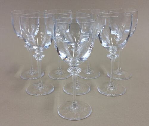 "cordial aperitif liqueur glasses 6"" tall 4 oz."