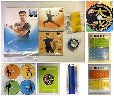 BeachBody Tai Cheng DVD Workout Package with Bonus DVD'S New Sealed