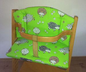 sitzverkleinerer sitzkissen schafe f r stokke tripp trapp babyset hochstuhl neu ebay. Black Bedroom Furniture Sets. Home Design Ideas
