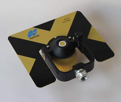 New Yellow Metal Single Prism For Topconsokkianikonpentax Total Stations