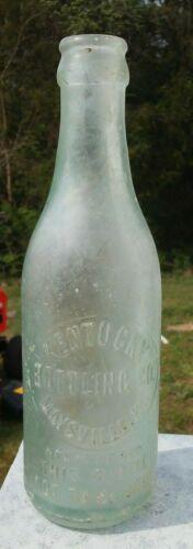 Antique Kentucky Bottling Co. Maysville KY Glass Bottle Late 1800