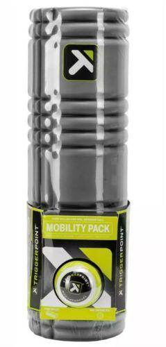 TriggerPoint  Foam GRID Back Core Roller & MB1 Deep Tissue Massage Ball Combo
