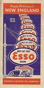 Esso New England Map