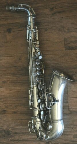 Vintage 1922-1923 C.G. Conn Alto Saxophone III9954 *For Restoration