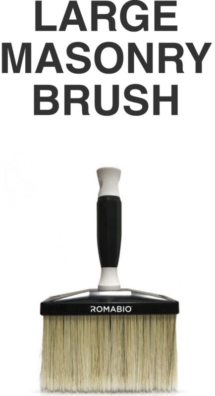 ROMABIO Limewash Large Masonry Brush