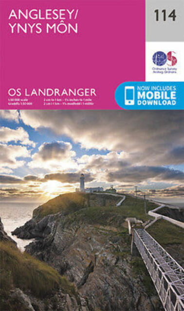Anglesey Landranger Map 114 Ordnance Survey 2016