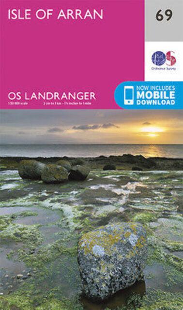 Isle of Arran Landranger Map 69 Ordnance Survey 2016