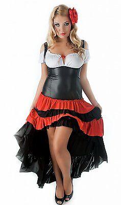 Spanisches Carmen Kleid