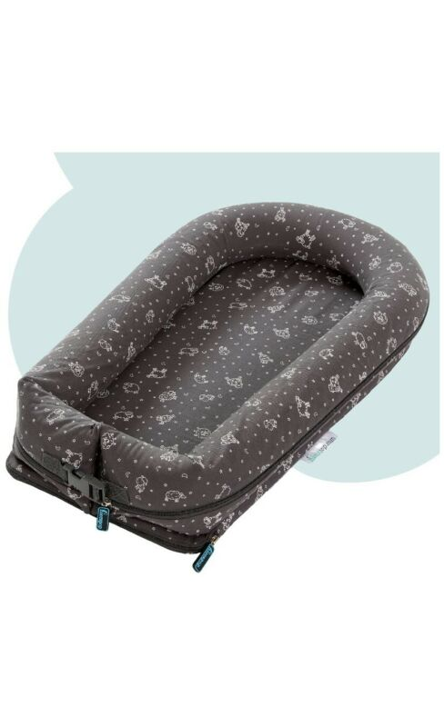 """hiccapop DreamPod Inflatable Portable Baby Lounger for Newborn Baby """"docatot"""""""