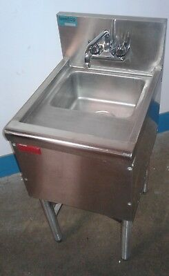 Commercial Single Ss Under Bar Sink Bar Hand Sink Dump Station. Our1