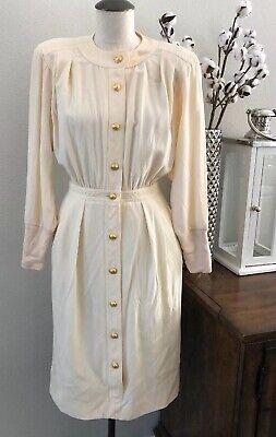 Vintage Valentino Miss V Neman Marcus Ltd. Edition Dress Ivory Dress Size 6 US