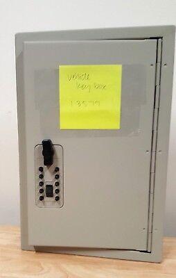 New Key Combination Lock Box Cabinet Storage Safe Wall Mount Holder 30 Kidde