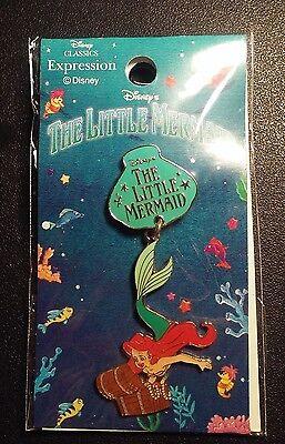 Disney Japan Classic Expression Ariel Dangle Pin