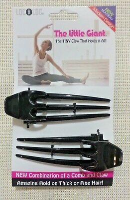 Localoc, Little Giant Set of 2 combination of a hair comb and a claw clip